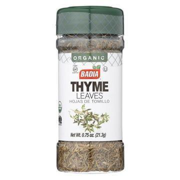 Badia Spices - Thyme Leaves - Case of 12-.75 oz.