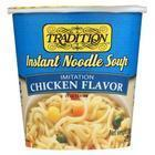 Tradition Foods Instant Noodle Soup - Chicken - Case of 12 - 2.29 oz.