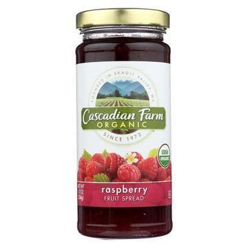 Cascadian Farm Organic Raspberry Fruit Spread - Case of 6 - 10 oz