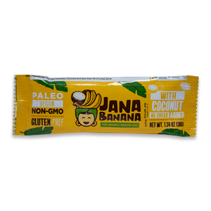 Banana Bar with Coconut