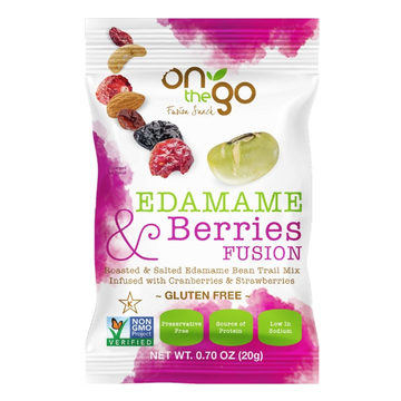 Edamame and Berry Fusion Trail Mix