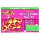 Annie'S Homegrown Fruit Snack Grapes Galore - Case Of 10 - 4 Oz
