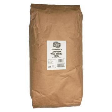 Lundberg Family Farms Wild Blend Whole Grain - Brown Rice - Case of 25 lbs