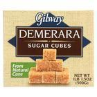 Gilway Demerara Sugar Cubes - Case of 10 - 17.5 oz.