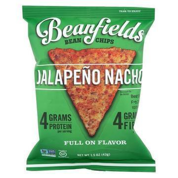 Beanfields - Bean and Rice Chips - Jalapeño Nacho - Case of 24 - 1.50 oz.