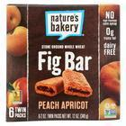 Nature's Bakery Stone Ground Whole Wheat Fig Bar - Peach Apricot - 2 oz - Case of 6