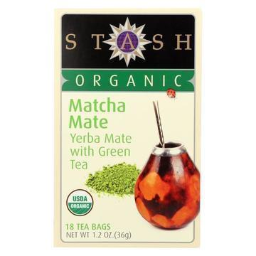 Stash Tea Tea - Organic - Matcha Mate - Case of 6 - 18 BAG