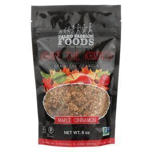 Krave The Krunch Granola - Maple Cinnamon - Case of 8 - 8 oz.