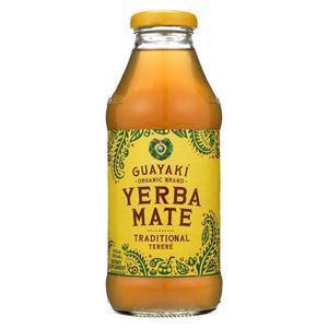 Guayaki Organic Traditional Mate Energy Drink - Case of 12 - 16 fl oz