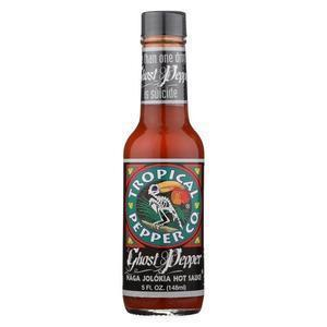 Tropical Pepper Pepper Sauce - Ghost - Case of 12 - 5 fl oz