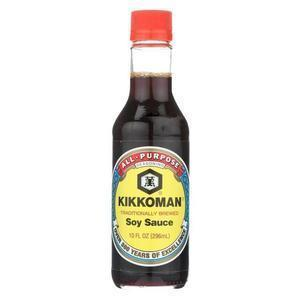 Kikkoman Sauce - Soy - Case of 12 - 10 fl oz