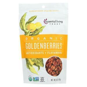 Essential Living Foods Golden berries - Antioxidant and Flavonoid's - Case of 6 - 6 oz.