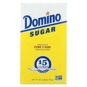 Domino Sugar - Granulated - Case of 24 - 32 oz.