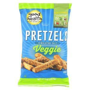 Good Health Pretzels - Himalayan Salt Veggie - Case of 12 - 8 oz