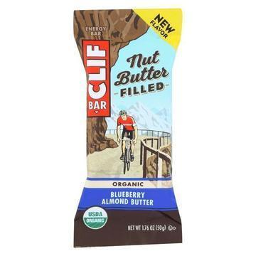 Clif Bar - Nut Butter Filled Blueberry Almond - Case of 12 - 1.76 oz