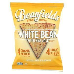 Beanfields Bean And Rice Chips - White Bean With Sea Salt - Case of 24 - 1.50 oz.