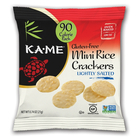 Lightly Salted Mini Rice Crackers