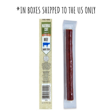 Natural Cut Beef Snack Stick