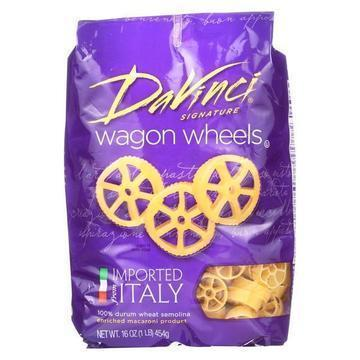 DaVinci - Wagon Wheels Pasta - Case of 12 - 1 lb.