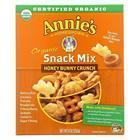 Annie's Homegrown Organic Snack Mix - Honey Bunny Crunsh - Case of 12 - 9 oz.