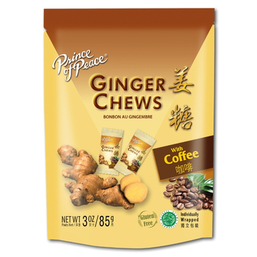 Coffee Ginger Chews
