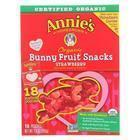 Annie'S Homegrown Fruit Snack Valentine'S Day - Case Of 12 - 7.3 Oz