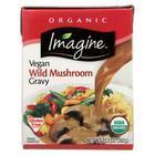 Imagine Foods Gravy - Organic - Vegetable Wild Mushroom - Case of 12 - 13.5 fl oz