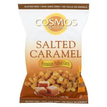 Cosmos Creations Snack - Salted Caramel - Case of 12 - 6.5 oz.
