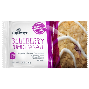 Blueberry Pomegranate Simply Wholesome Oatmeal Bar