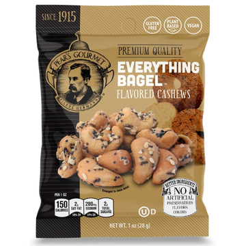 Everything Bagel Flavored Cashews