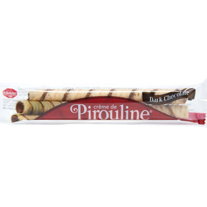 Dark Chocolate Creme Rolled Wafers