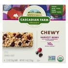 Cascadian Farm - Chewy Granola Bars - Harvest Berry - 7.4 oz.