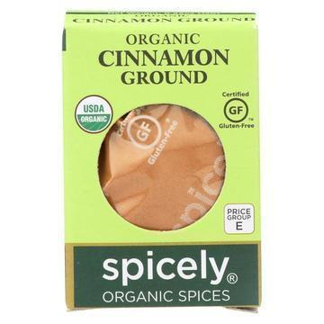 Spicely Organics - Organic Cinnamon - Ground - Case of 6 - 0.45 oz.