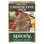 Spicely Organics - Organic Chinese 5 Spice Seasoning - Case of 6 - 0.4 oz.