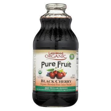 Lakewood - Organic Juice - Black Cherry - Case of 6 - 32 fl oz.