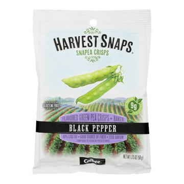 Black Pepper Snapea Crisps