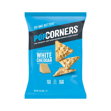 White Cheddar Popped-Corn Snack