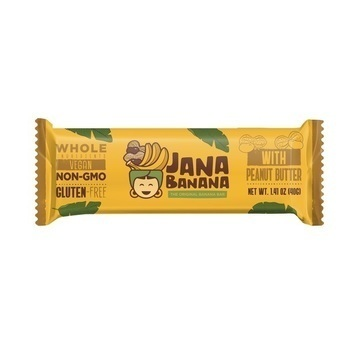 Banana Bar with Peanut Butter