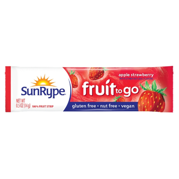 Apple Strawberry Fruit to Go Strip