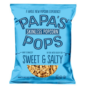 Sweet & Salty Skinless Popcorn