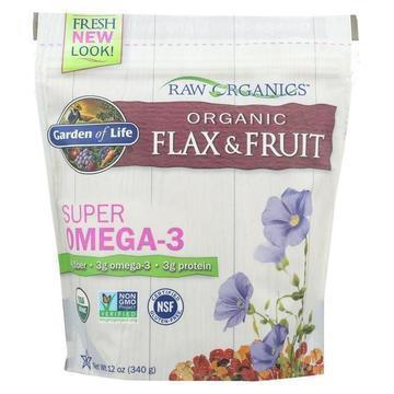 Garden Of Life - Raw Organics Flax and Fruit - 12 OZ