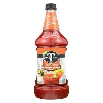 Mr and Mrs T Mix - Bloody Mary - Fiery Pepper - Case of 6 - 59.2 fl oz