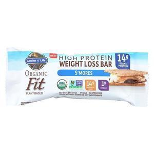 Garden Of Life - Fit High Protein Bar S'mores - Case of 12 - 1.9 OZ