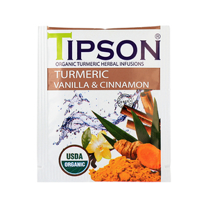 Turmeric, Vanilla, and Cinnamon Tea