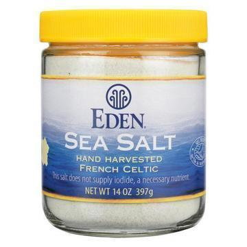 Eden Foods French Celtic Sea Salt  - Case of 12 - 14 OZ