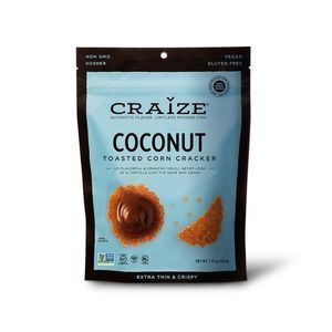 Craize Coconut Toasted Corn Crackers